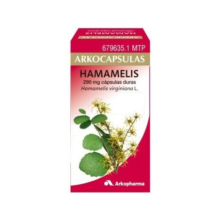 arkocapsulas hamamelis (290 mg 48 capsulas )