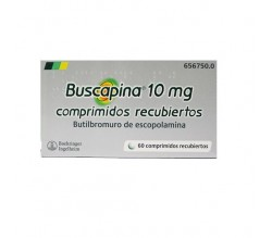 BUSCAPINA (10 MG 6 SUPOSITORIOS )