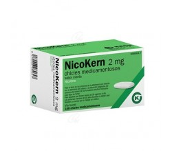 NICOKERN (2 MG 108 CHICLES SABOR MENTA )