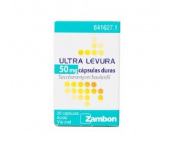 ULTRA-LEVURA (50 MG 20 CAPSULAS )