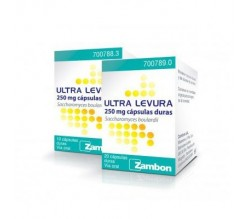 ULTRA-LEVURA (250 MG 20 CAPSULAS )