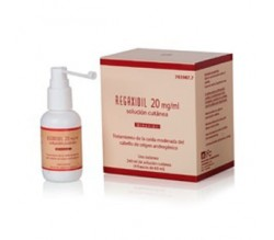 REGAXIDIL (20 MG/ML SOLUCION CUTANEA 2 FRASCOS 60 ML )