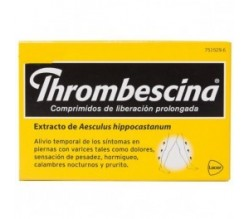 THROMBESCINA (263.2 MG 50 COMPRIMIDOS LIB PROLONGADA )