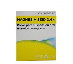MAGNESIA SEID (2.4 G 14 SOBRES POLVO SUSPENSION ORAL )