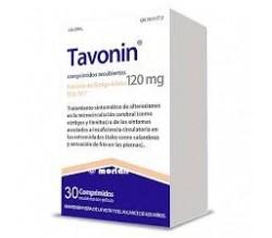 TAVONIN (120 MG 30 COMPRIMIDOS RECUBIERTOS )