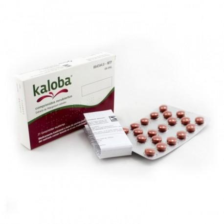 kaloba (20 mg 21 comprimidos recubiertos )
