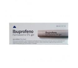 IBUPROFENO FARMASIERRA TOPICO (50 MG/G GEL TOPICO 50 G )