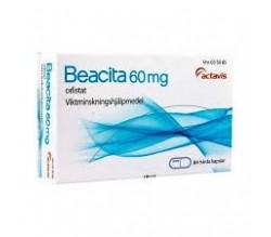BEACITA (60 MG 42 CAPSULAS (BLISTER) )
