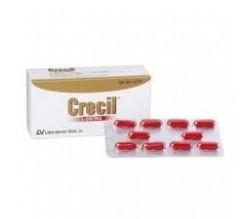 CRECIL (500 MG 40 CAPSULAS )